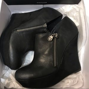 Brand new in box black booties